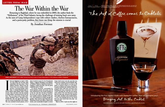 Article Preview: The War Within the War, December 2005 2005 | Vanity Fair