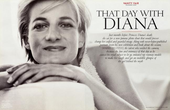Article Preview: THAT DAY WITH DIANA, December 2005 2005 | Vanity Fair
