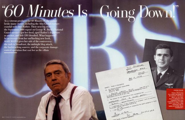 "Article Preview: ""60 Minutes Is Going Down!"", December 2005 