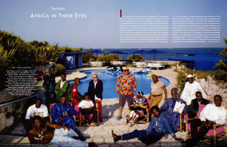 AFRICA IN THEIR EYES