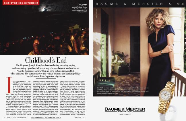 Article Preview: Childhood's End, January 2006 2006 | Vanity Fair