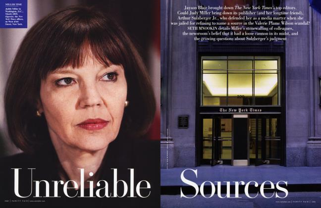 Article Preview: Unreliable Sources, January 2006 2006 | Vanity Fair