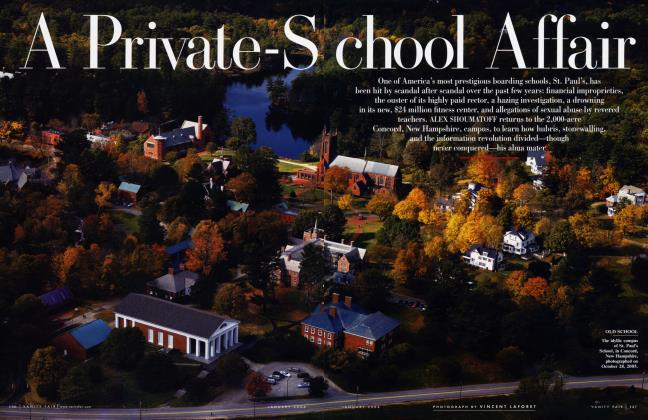 Article Preview: A Private-School Affair, January 2006 2006 | Vanity Fair
