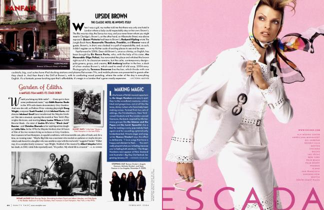Article Preview: MAKING MAGIC, February 2006 2006 | Vanity Fair