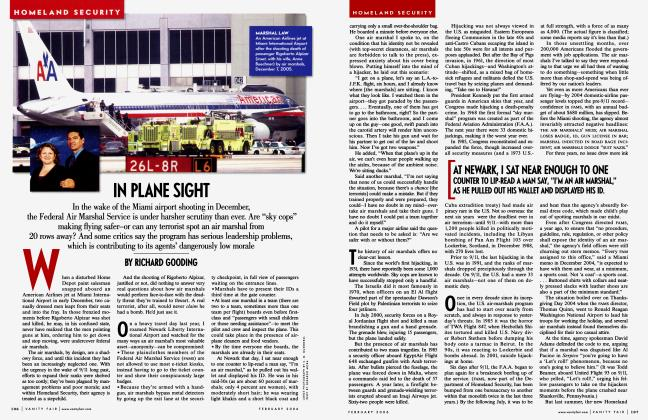 Article Preview: IN PLANE SIGHT, February 2006 | Vanity Fair