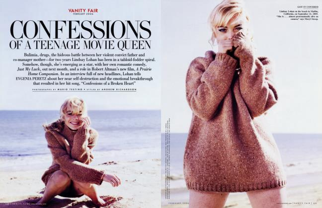 Article Preview: CONFESSIONS OF A TEENAGE MOVIE QUEEN, February 2006 2006 | Vanity Fair