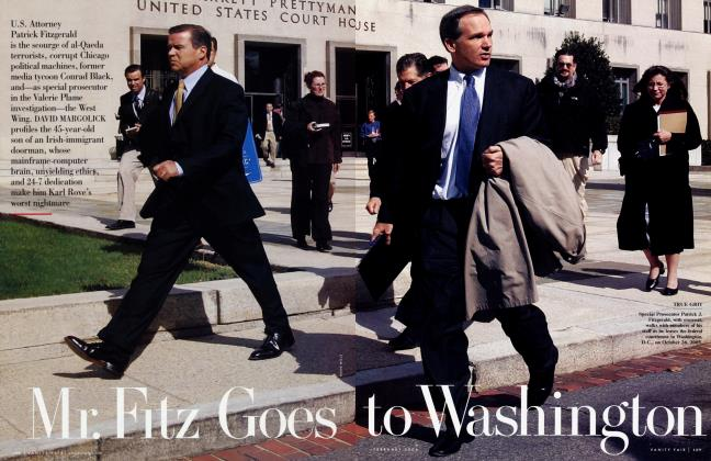 Article Preview: Mr. Fitz Goes to Washington, February 2006 | Vanity Fair