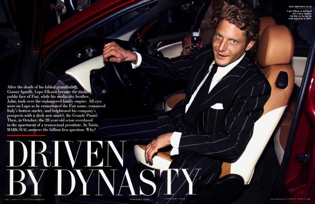 Article Preview: DRIVEN BY DYNASTY, February 2006 2006 | Vanity Fair