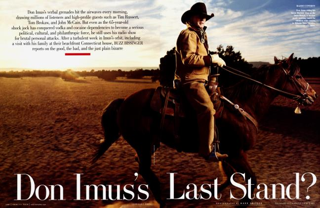 Article Preview: Don Imus's Last Stand?, February 2006 2006 | Vanity Fair