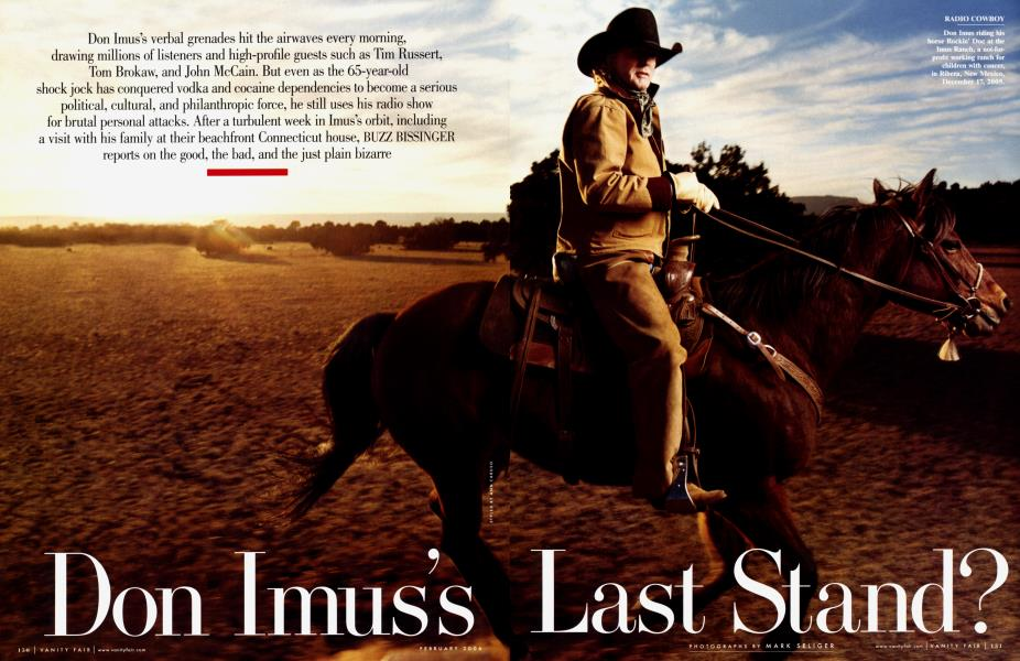 Don Imus's Last Stand?