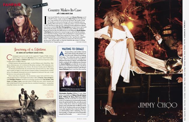 Article Preview: WAITING TO EXHALE, March 2006 2006 | Vanity Fair