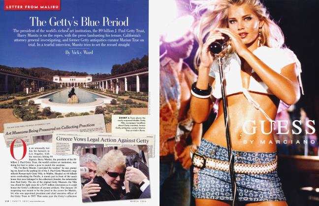 Article Preview: The Getty's Blue Period, March 2006 2006 | Vanity Fair