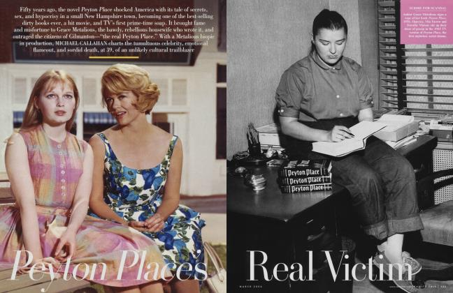 Article Preview: Peyton Place's Real Victim, March 2006 | Vanity Fair