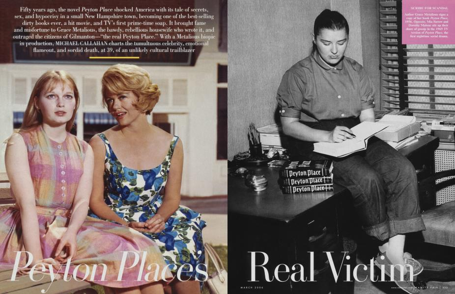 Peyton Place's Real Victim