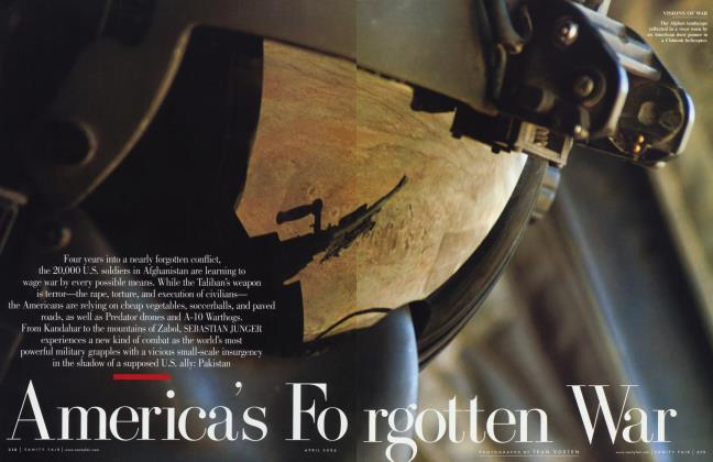Article Preview: America's Forgotten War, April 2006 | Vanity Fair