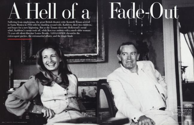 Article Preview: A Hell of a Fade-Out, April 2006 | Vanity Fair