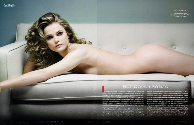 Article Preview: HOT COUCH POTATO, May 2006 2006 | Vanity Fair