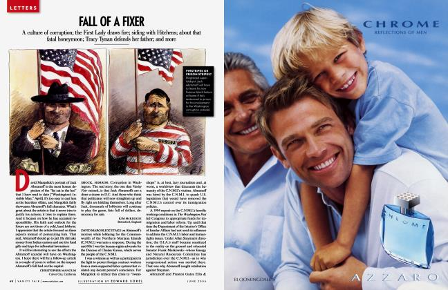 Article Preview: FALL OF A FIXER, June 2006 2006 | Vanity Fair
