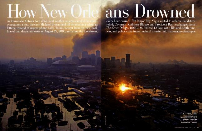 Article Preview: How New Orleans Drowned, June 2006 2006 | Vanity Fair