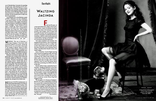 Article Preview: WALTZING JACINDA, June 2006 2006 | Vanity Fair
