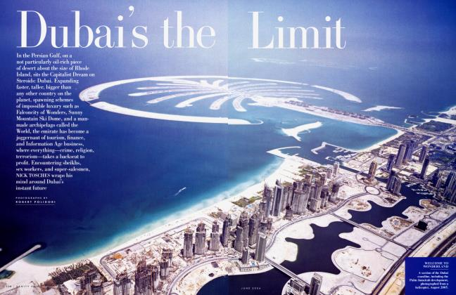 Article Preview: Dubai's the Limit, June 2006 2006 | Vanity Fair