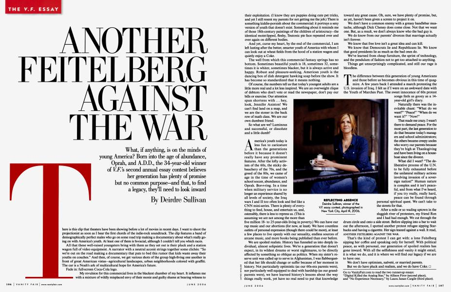 ANOTHER FEITELBERG AGAINST THE WAR