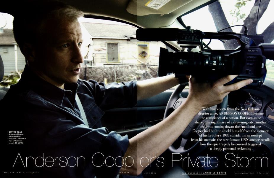Anderson Cooper's Private Storm