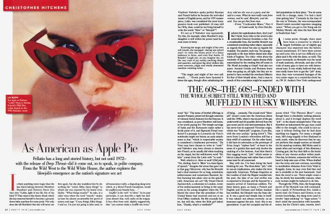 Article Preview: As American as Apple Pie, July 2006 2006 | Vanity Fair