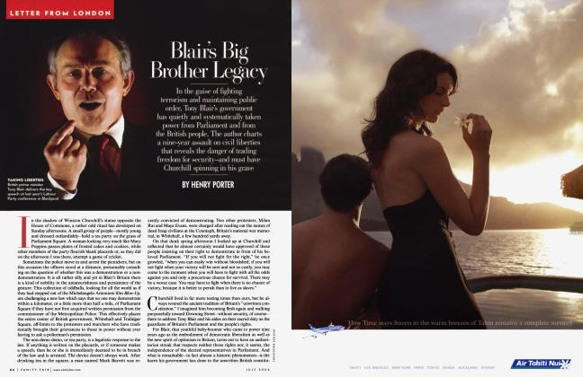 Article Preview: Blair's Big Brother Legacy, July 2006 2006 | Vanity Fair