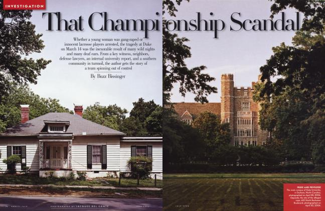 Article Preview: That Championship Scandal, July 2006 2006 | Vanity Fair