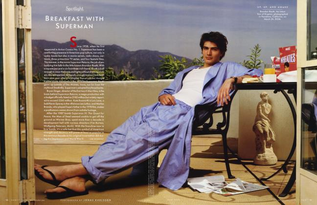 Article Preview: BREAKFAST WITH SUPERMAN, July 2006 2006 | Vanity Fair
