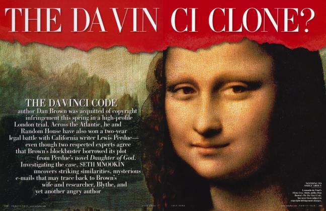 Article Preview: THE DA VINCI CLONE?, July 2006 | Vanity Fair