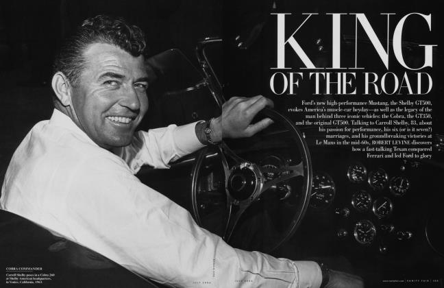 Article Preview: KING OF THE ROAD, July 2006 | Vanity Fair