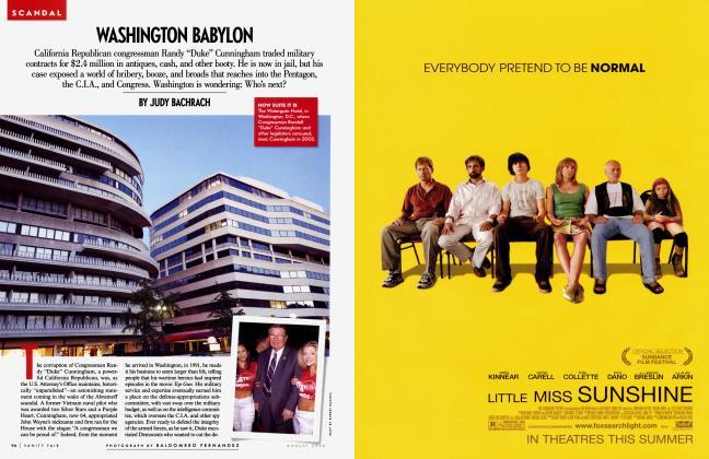 Article Preview: WASHINGTON BABYLON, August 2006 | Vanity Fair