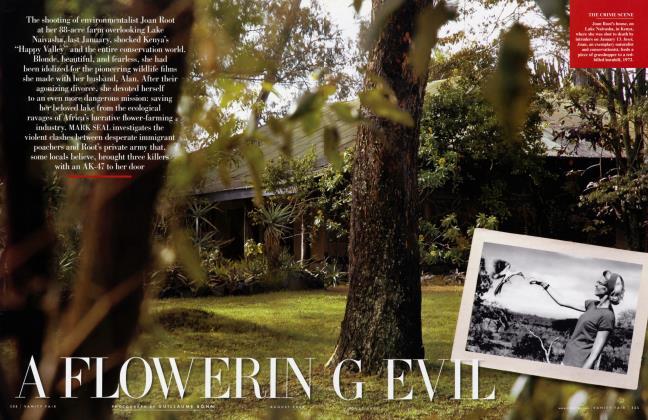 Article Preview: A FLOWERING EVIL, August 2006 | Vanity Fair