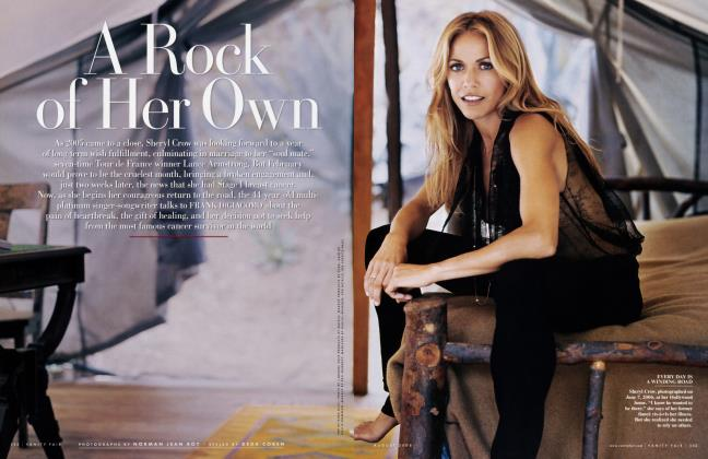 Article Preview: A Rock of Her Own, August 2006 2006 | Vanity Fair