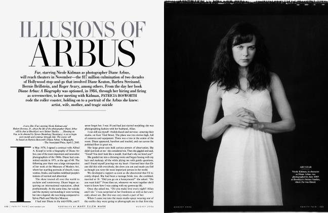 Article Preview: ILLUSIONS OF ARBUS, August 2006 | Vanity Fair