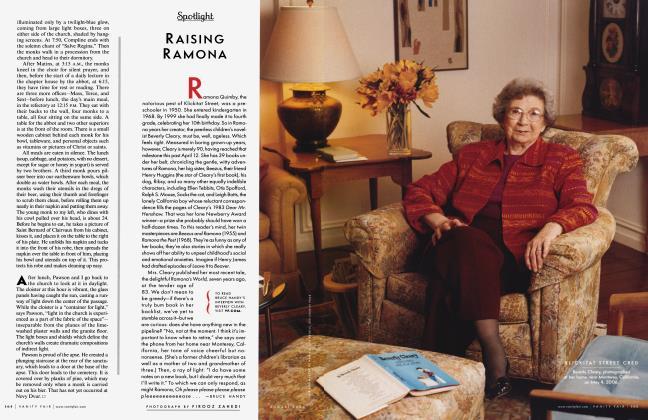 Article Preview: RAISING RAMONA, August 2006 2006   Vanity Fair
