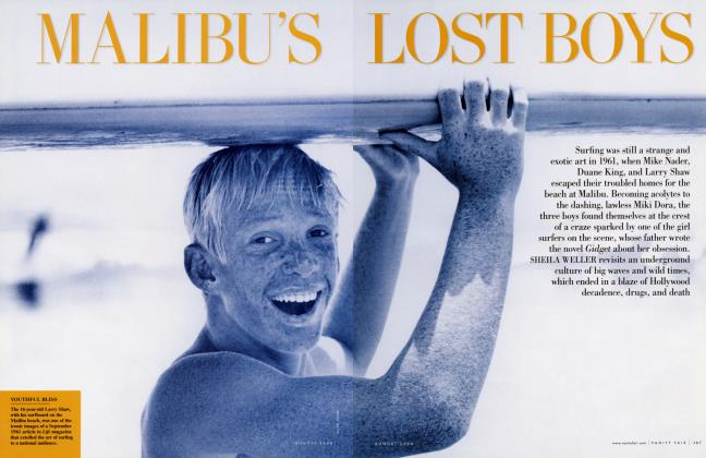 Article Preview: MALIBU'S LOST BOYS, August 2006 2006 | Vanity Fair