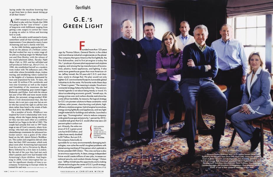 G.E.'S GREEN LIGHT