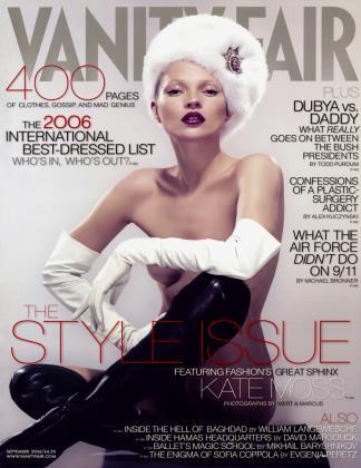 September 2006 | Vanity Fair