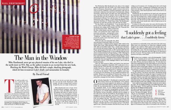 The Man in the Window - September | Vanity Fair