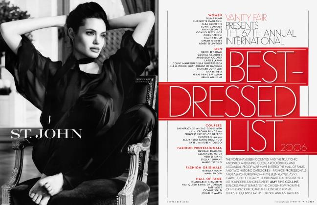 Article Preview: BEST-DRESSED LIST 2006, September 2006 | Vanity Fair