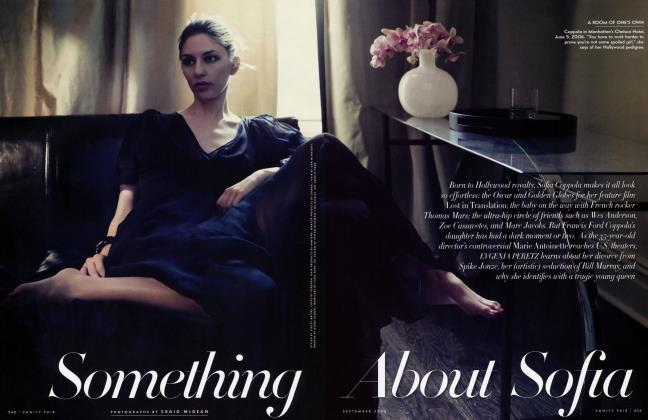 Article Preview: Something About Sofia, September 2006 | Vanity Fair