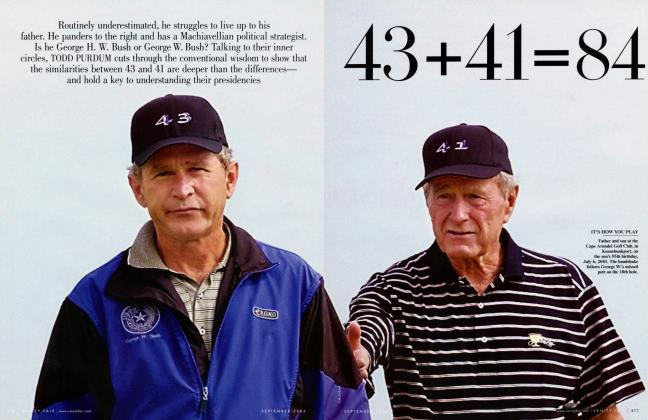 Article Preview: 43+41=84, September 2006 | Vanity Fair