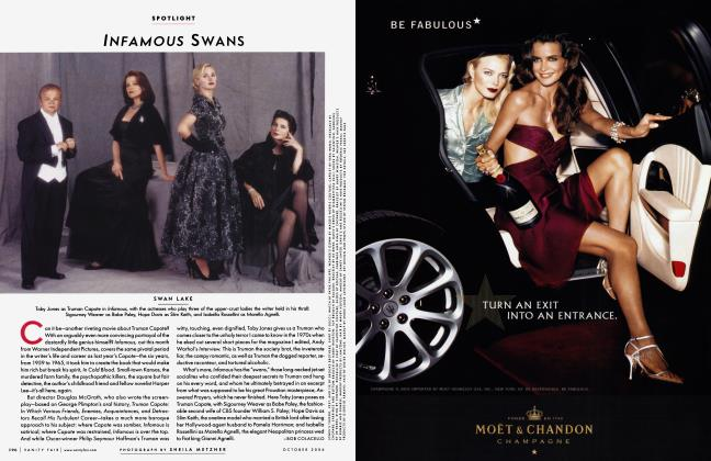 Article Preview: INFAMOUS SWANS, October 2006 2006 | Vanity Fair
