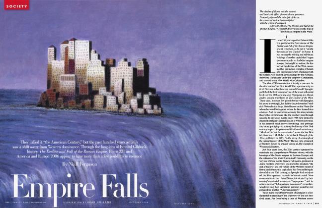 Article Preview: Empire Falls, October 2006 2006 | Vanity Fair