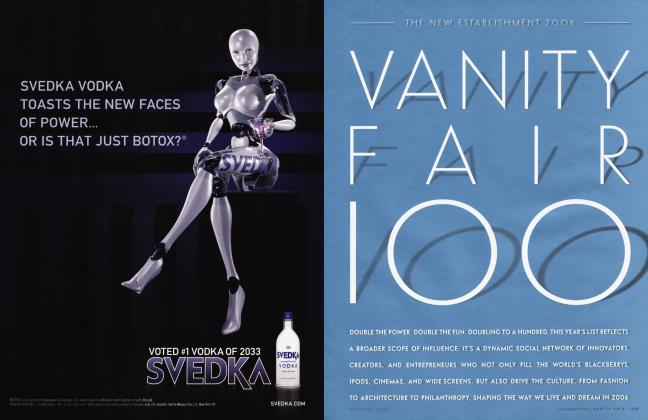 Article Preview: THE NEW ESTABLISHMENT 2006 VANITY FAIR 100, October 2006 | Vanity Fair