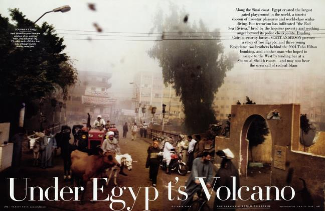 Article Preview: Under Egypt's Volcano, October 2006 | Vanity Fair