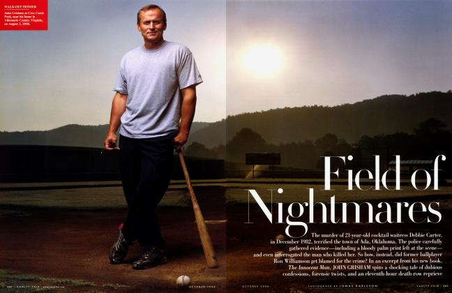 Article Preview: Field of Nightmares, October 2006 | Vanity Fair